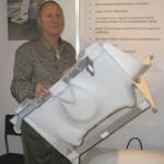 Firmengründer und Entwickler Kurt Brandenberger